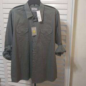 Mens Gray Shirt